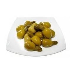 Kimbos (Aceitunas Gordal rellenas de Pepino)